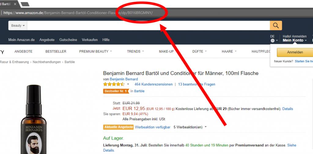 Amazon Verfügbarkeitsalarm